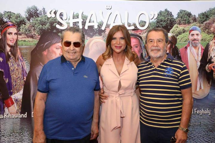 Click to enlarge image Aline Lahoud with her uncle Romeo Lahoud  her father Nahi Lahoud.JPG