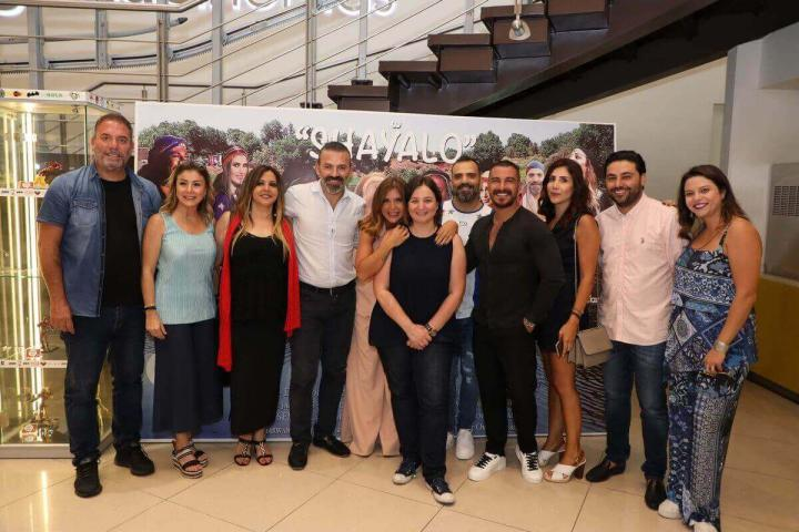 Click to enlarge image Aline Lahoud with the team 3.JPG